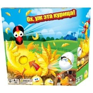 Настольная игра Ох уж эта курица
