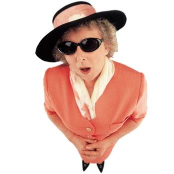 Женщина 87 лет