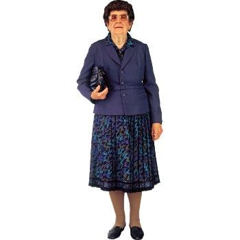 Женщина 90 лет
